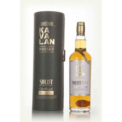 Kavalan Solist ex-Bourbon Cask Single Malt (70cl) - liquormalaysia