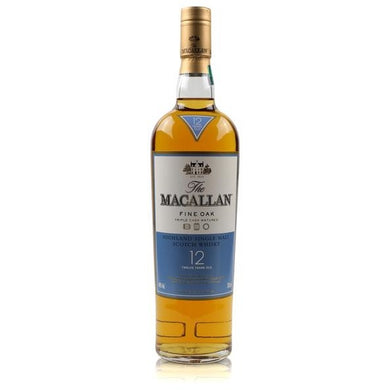 The Macallan Fine Oak 12 Years Old Single Malt Whisky (70cl) - liquormalaysia