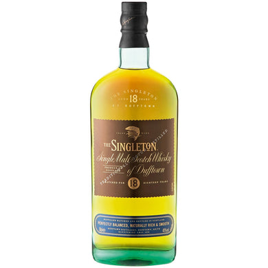Singleton 18 Years Old Single Malt Whisky (70cl) - liquormalaysia