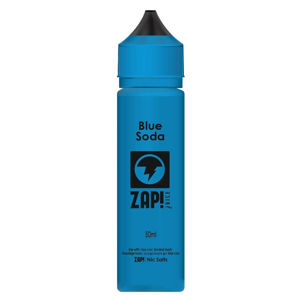 Blue Soda | ZAP! Juice | 50ml Shortfill