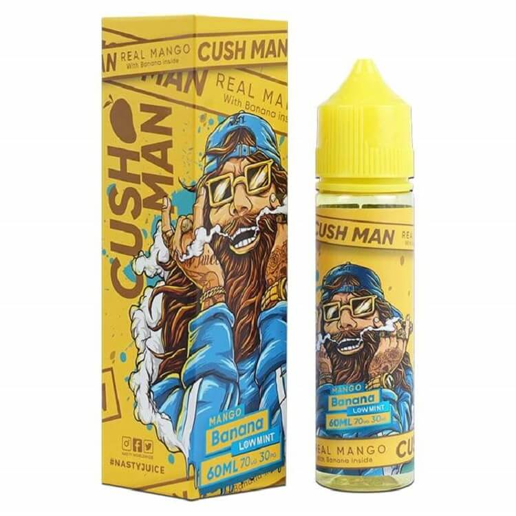Banana Mango ( Cushman Series) e-liquid by Nasty Juice
