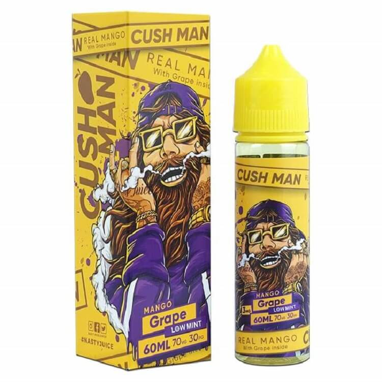 Grape Mango (Cush Man Series) e-liquid by Nasty Juice