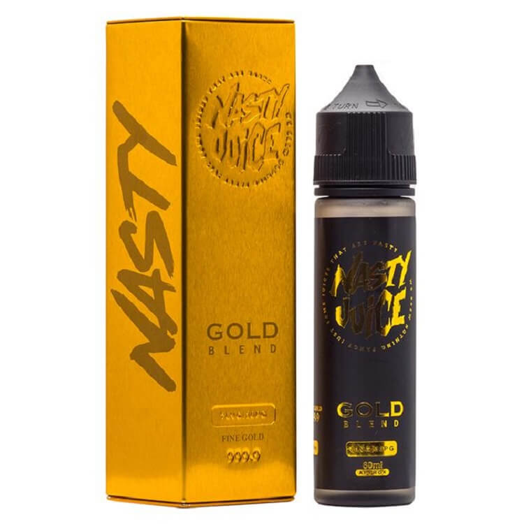 Gold Blend e-liquid by Nasty Juice