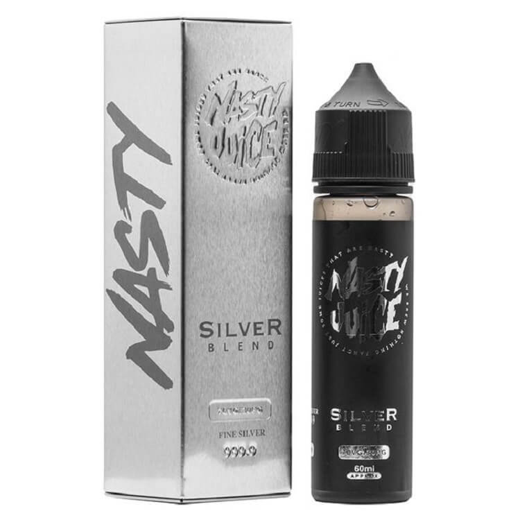 Silver Blend e-liquid by Nasty Juice