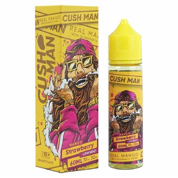 Strawberry Mango ( Cushman Series) e-liquid by Nasty Juice