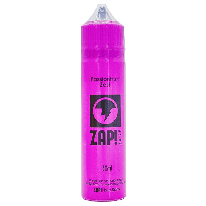 Passionfruit Zest e-liquid by ZAP! Juice