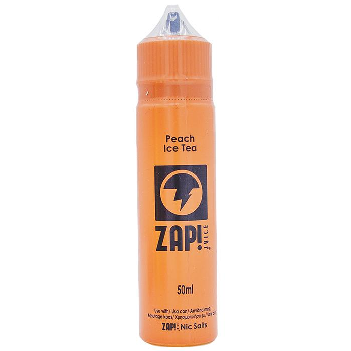 Peach Ice Tea e-liquid by ZAP! Juice