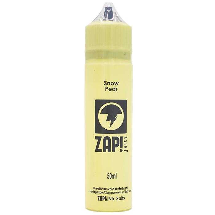 Snow Pear e-liquid by ZAP! Juice