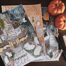 Halloween Journal Sheets