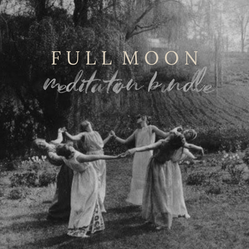 4 Full Moon Guided Meditations