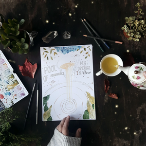 Tea Magic Printable Journal Sheets