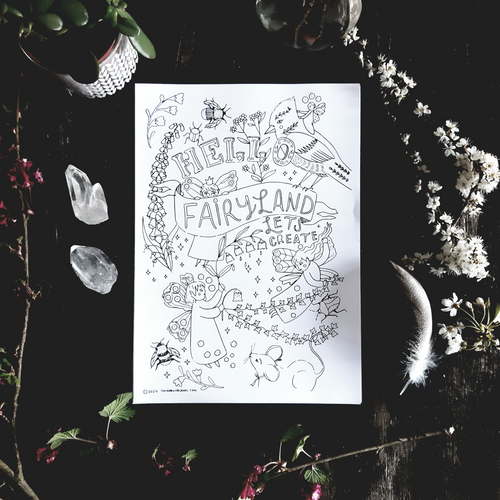 Fairy Printable Bundle Set
