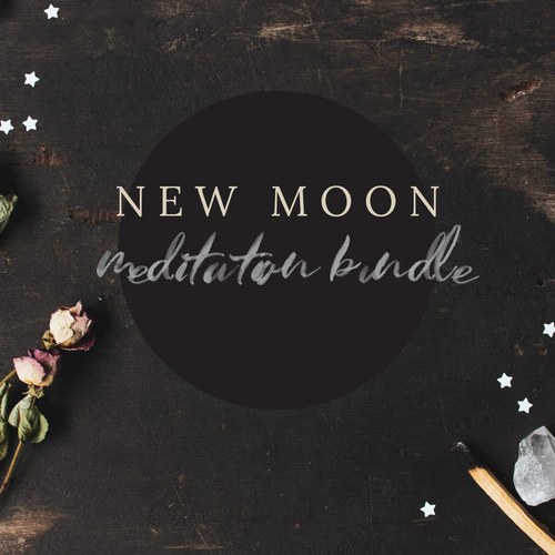New Moon Guided Meditations Bundle