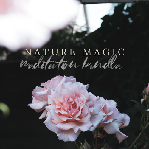 Nature Magic Guided Meditations Bundle