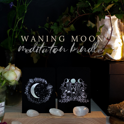 Waning Moon Guided Meditations Bundle