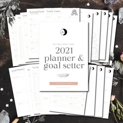 2021 Planner And Goal Setter Bundle