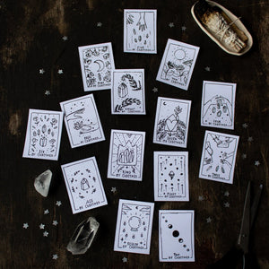 Printable Tarot Deck