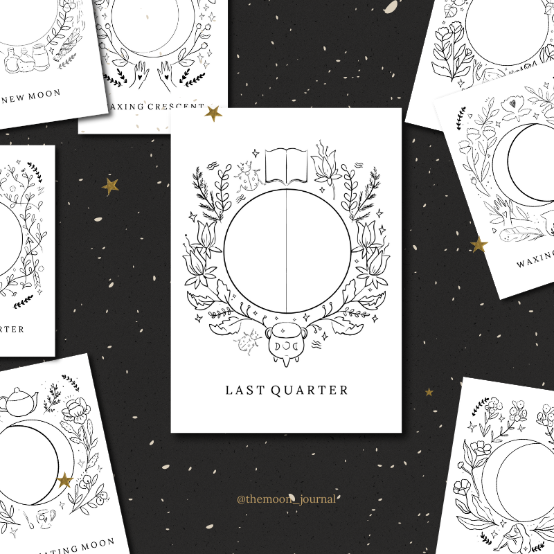 Printable Mini Moon Deck
