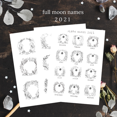 Full Moon Names 2021