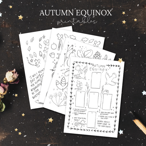 Autumn Equinox and Pagan Festival Mabon Printables