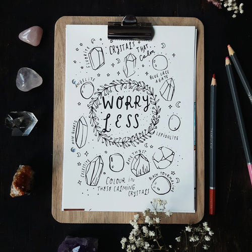 Worry Less - Printable Journal Sheets