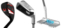Up-and-Down Bundle: 65° C3i Wedge, 45° Square Strike Wedge & S7K Putter
