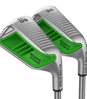 55° & 60° Square Strike Wedges (Green)