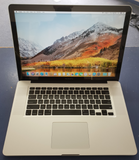 A1398 Apple Macbook Pro 2013 i7 2.3