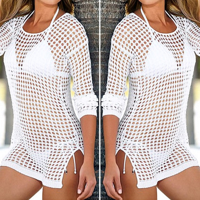Ladies and Teens Mesh Cover Up