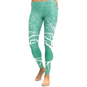 Ladies and Teens Colorful Leggings with High Waist For Yoga or Gym Workouts