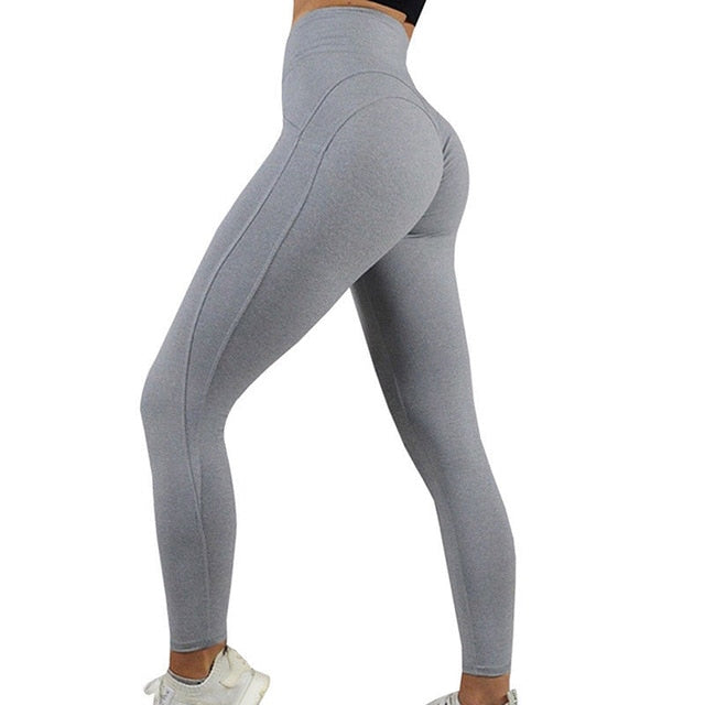 Ladies High Waist Yoga and Gym Workout Leggings