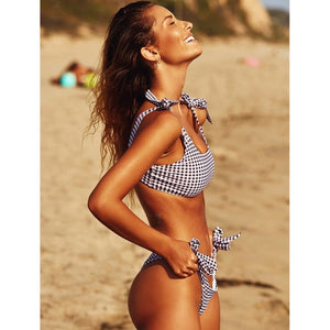 Maillot de Bain  Black and White Bikini