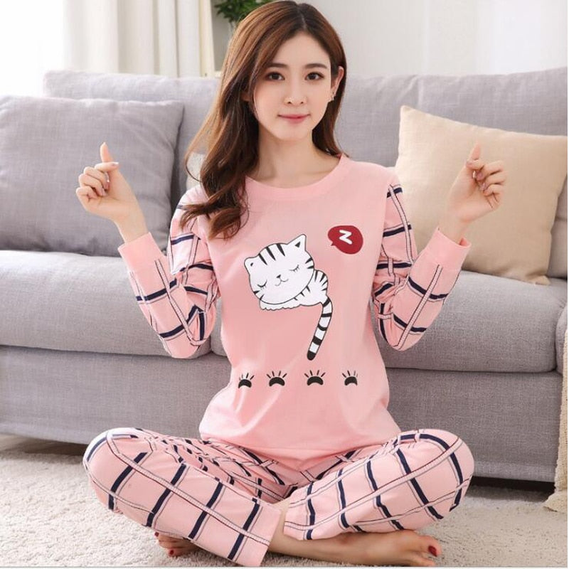 Ladies and Teens Two Piece Pajama Set