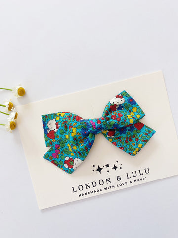 Hello kitty X Liberty of London strawberry bows
