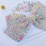 Katie and Millie Liberty of London bows