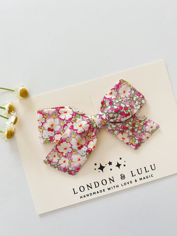 Hello kitty X Liberty of London Apples bows