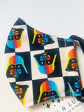 Darth Vader rainbow Star Wars face masks