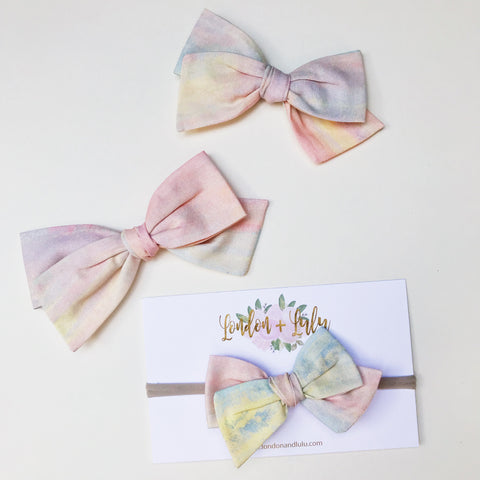 Rifle Paper co watercolor twirl bows