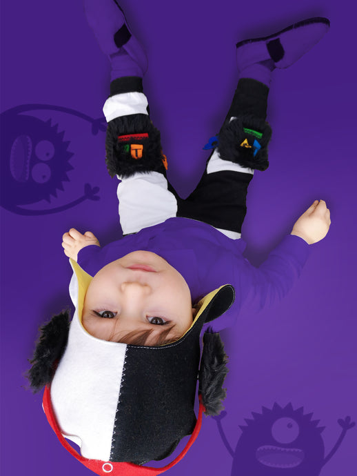 Sensory PLAY and LEARN with Begabungo Monster knee pads