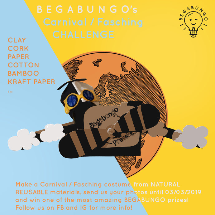 Begabungo's sustainable carnival costume challenge