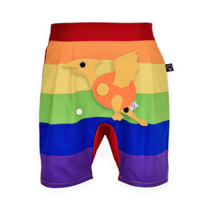 DINO SET - Rainbow short pants with DINO Toy