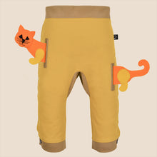 Load image into Gallery viewer, POCKET SET - Trousers duo colori with ANIMAL Toy - Mustardino