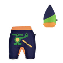 Load image into Gallery viewer, BUNGO SET - Short pants with 3D toy and pixie hat