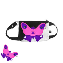Load image into Gallery viewer, 3D SET - Square belly/back bag with 3D Toy
