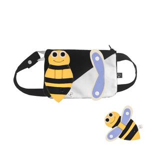 3D SET - Square belly/back bag with 3D Toy