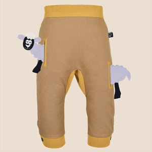 POCKET SET - Trousers duo colori - Beige beige baby