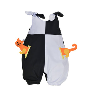 POCKET SET - Overall with ANIMAL Toy - Domino