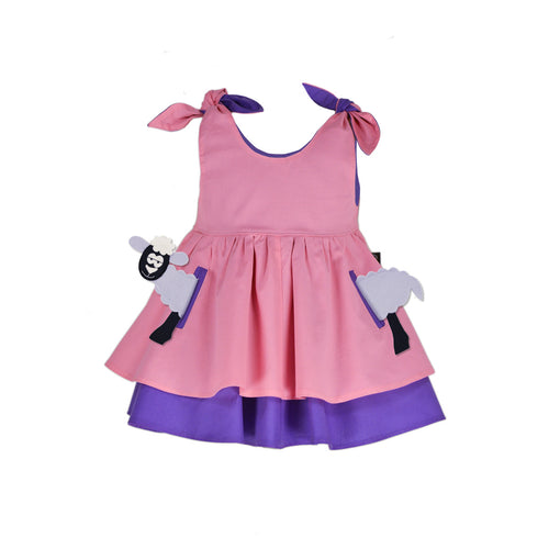 POCKET SET - Dress with ANIMAL Toy - Daisy