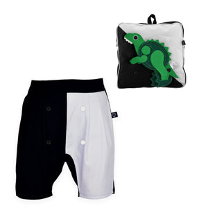 BUNGO SET - Short pants with DINO backpack