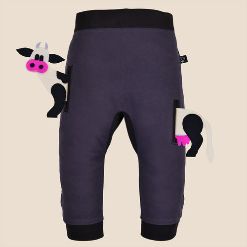 POCKET SET - Trousers duo colori - Grayish beauty